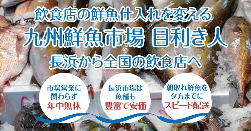 九州鮮魚市場目利き人